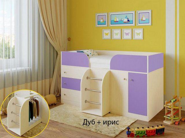 Кровать чердак Малыш-4 Ярофф