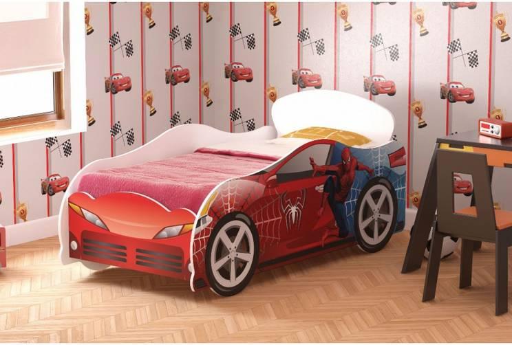 Кровать детская №1 Омега-12 Человек-Паук