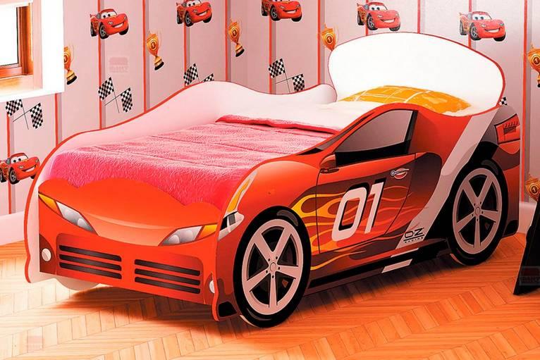 Кровать детская №1 Омега-12 Гонки