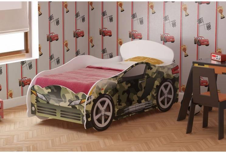 Кровать детская №1 Омега-12 Хаки