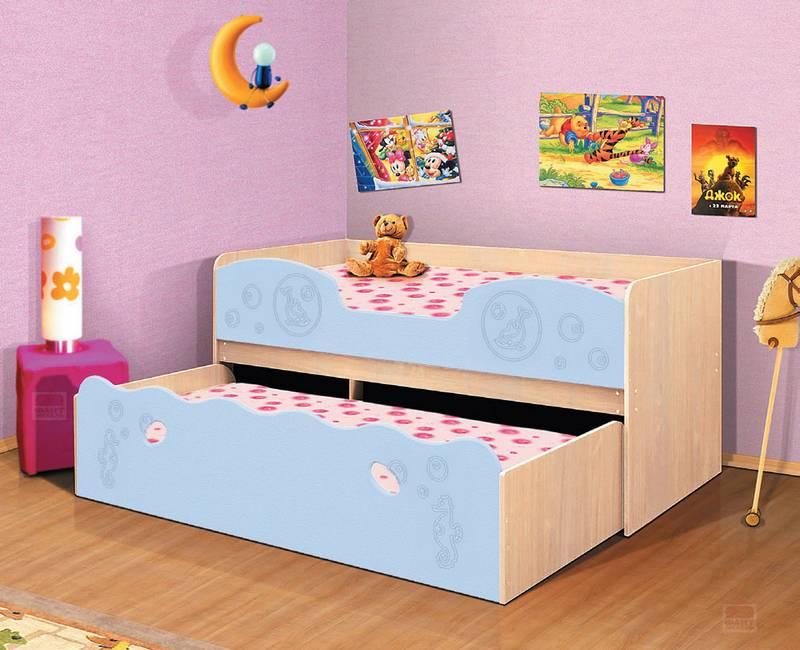 Уголок школьника Омега 11 МДФ - кровать выкатная