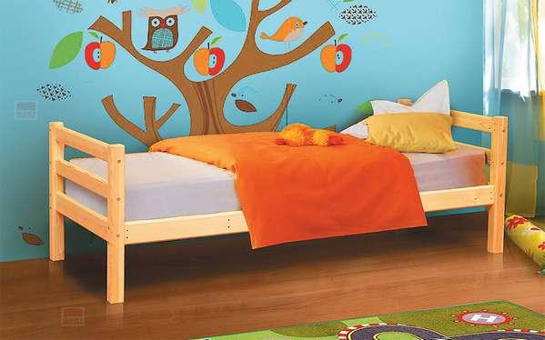 Кровать из массива Омега 14 вариант №1 ФАНТ