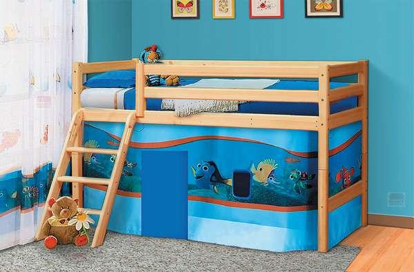 Кровать из массива Омега 14 вариант №12