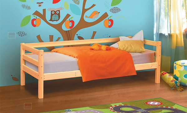 Кровать из массива Омега 14 вариант №2