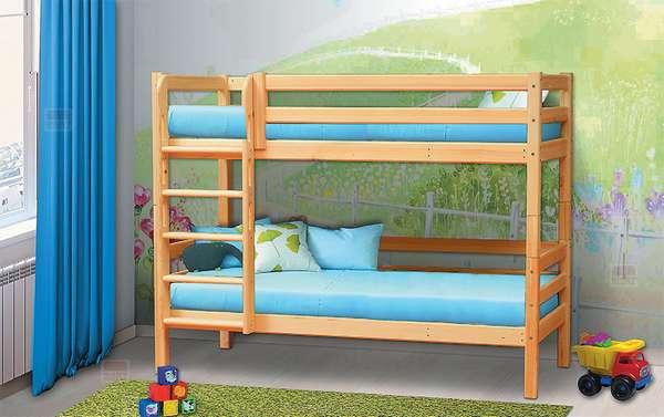 Кровать из массива Омега 14 вариант №9