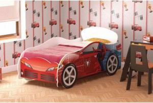Кровать-машинка Человек-Паук