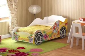 Кровать детская №2 Омега-12 ЛДСП Фея