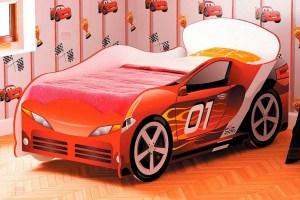 Кровать-машинка Гонки