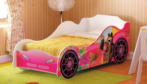 Кровать-машинка Маша и Медведь