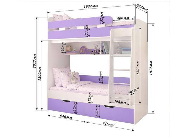 Двухъярусная кровать Юниор-5 Ярофф